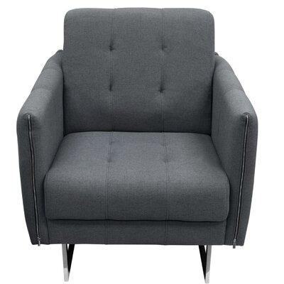 Hampton Armchair Upholstery: Graphite