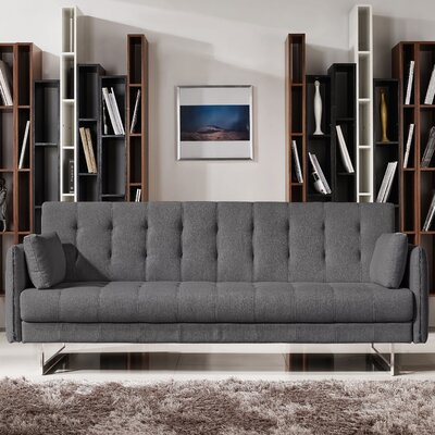 Hampton Sleeper Sofa Color: Graphite