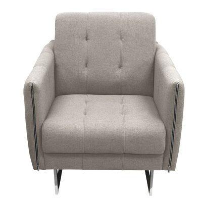 Hampton Armchair Color: Sandstone
