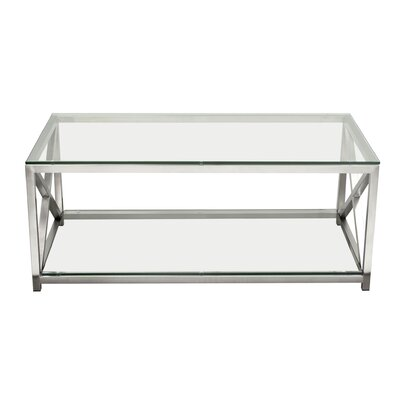 X-Factor Coffee Table with Magazine Rack