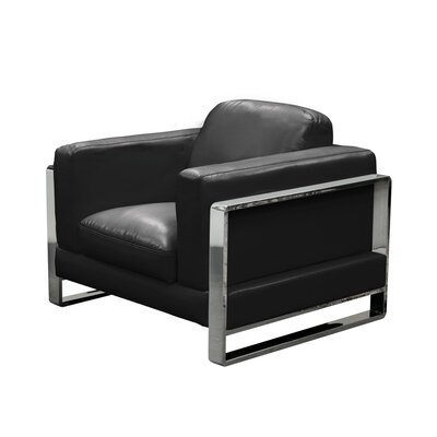 Annika Armchair Upholstery: Black