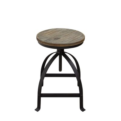 Davis Adjustable Height Bar Stool