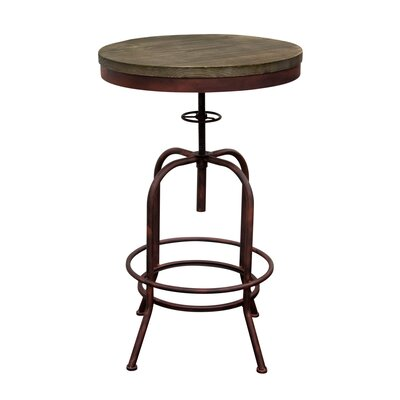 Fairfax Adjustable Height Pub Table