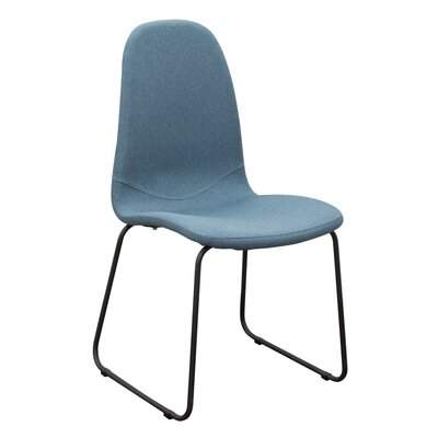 Finn Side Chair Upholstery: Blue