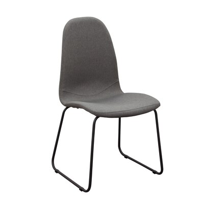 Finn Side Chair Upholstery: Grey