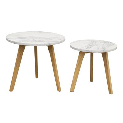 Pebble 2 Piece Nesting Tables