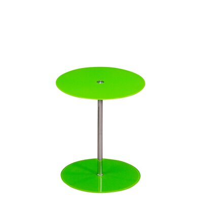 Orbit End Table Color: Green
