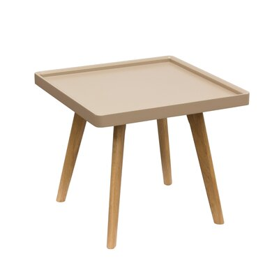 Caf� End Table Color: Taupe