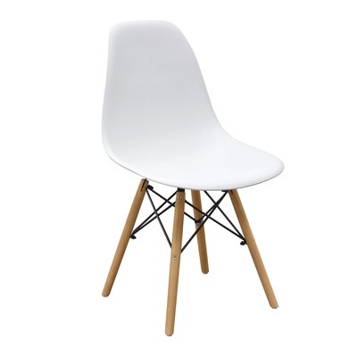 Ion Side Chair Finish: White