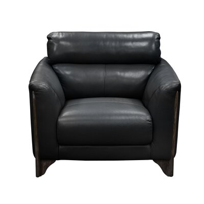 Monaco Club Chair Color: Black