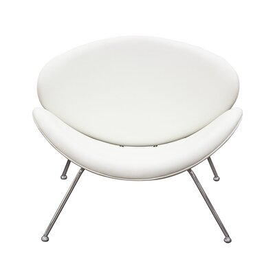 Roxy Papasan Chair Upholstery: White