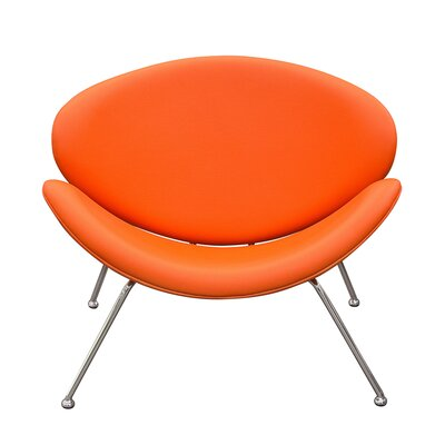 Roxy Papasan Chair (Set of 2) Color: Orange