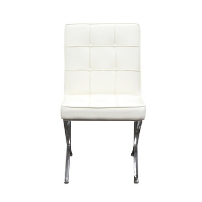 Cordoba Side Chair Upholstery: White