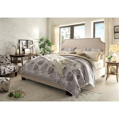 Kingston Upholstered Panel Bed Size: California King