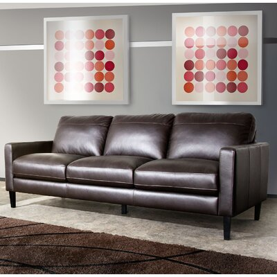 Omega  Leather Sofa