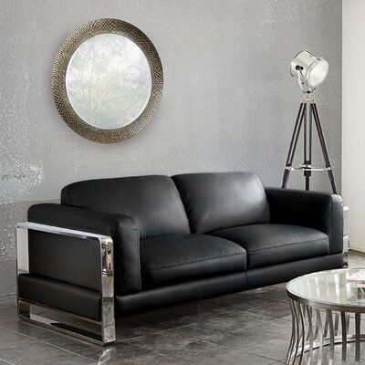 Annika Sofa Color: Black