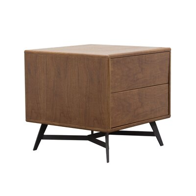 Alita End Table Finish: Walnut