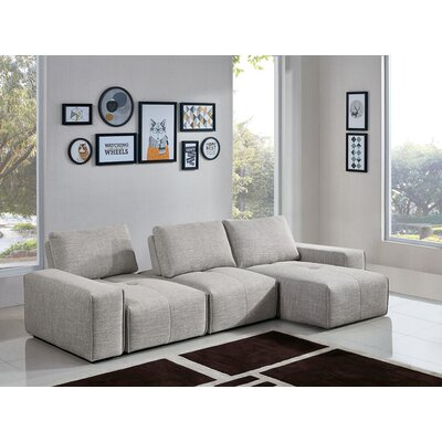 Tyntesfield 3-Seater Reversible Chaise Sectional