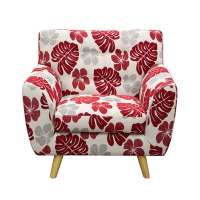 Scarlett Patterned Armchair
