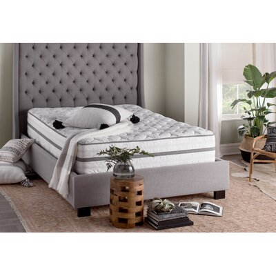 Park Avenue Upholstered Panel Bed