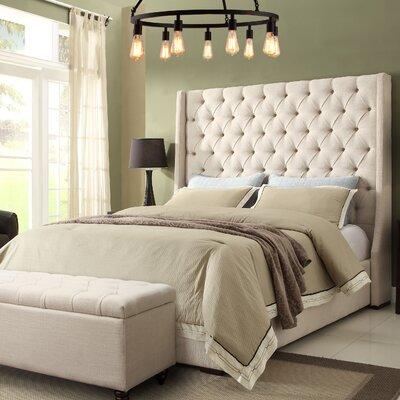 Park Avenue Upholstered Panel Bed