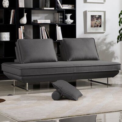 Typhon Convertible Sofa Upholstery: Gray