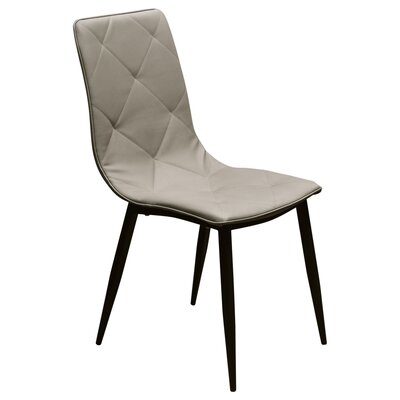 Stanek Upholstered Dining Chair Finish: Taupe