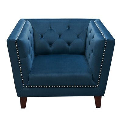 Rachele Tufted Back Accent Arm Chair