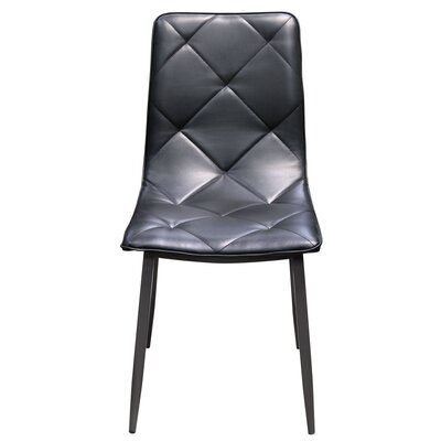 Stanek Upholstered Dining Chair Finish: Black