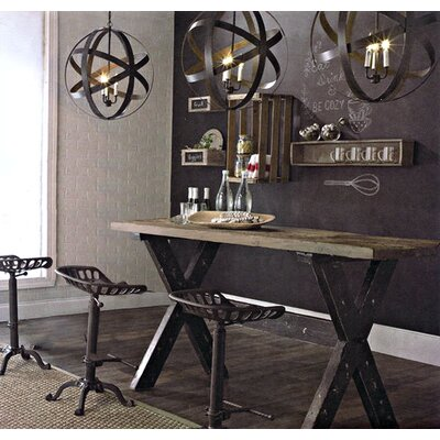 Caddie Vintage Rectangular Dining Table