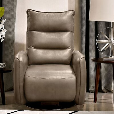 Hague Manual Recliner Upholstery: Taupe