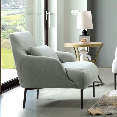 Standley Lounge Chair Upholstery: Mist Gray