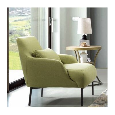 Standley Lounge Chair Upholstery: Avocado Gray