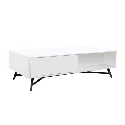 Cosentino Coffee Table Color: White