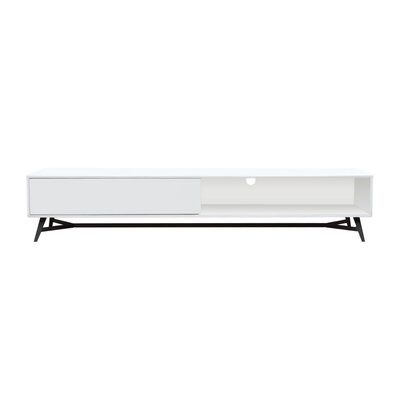 Cosentino 79 TV Stand Color: White
