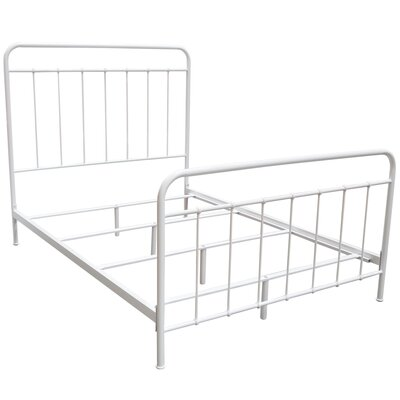 Eells Bed Size: Twin, Bed Fame Color: White