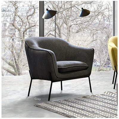 Desimone Armchair with Metal Leg