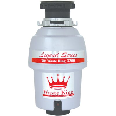 Legend Series EZ-Mount 3/4 HP Continuous Feed Garbage Disposal