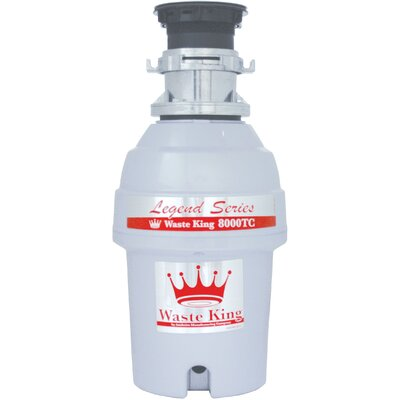 Legend Series 1 HP EZ-Mount Garbage Disposal with Batch Feed