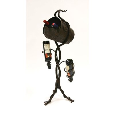 Easy financing ArtDeco 4 Bottle Wine Rack...