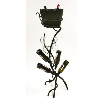 In store financing ArtDeco 4 Bottle Wine Rack...