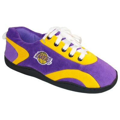 Comfy Feet NBA All Around Slipper - Size: Men's (9 - 10), NBA Team: Los Angeles Lakers at Sears.com