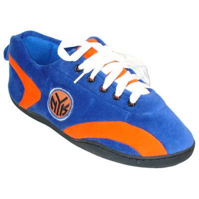 Comfy Feet NBA All Around Slipper - NBA Team: New York Knicks, Size: Men's (5 - 6) at Sears.com