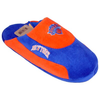 Comfy Feet NBA Low Pro Stripe Slippers - NBA Team: New York Knicks, Size: Men's (7 - 8) at Sears.com