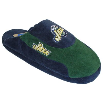 Comfy Feet NBA Low Pro Stripe Slippers - Size: Men's (11 - 12), NBA Team: Utah Jazz at Sears.com
