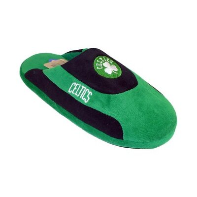 Comfy Feet NBA Low Pro Stripe Slippers - Size: Men's (5 - 6), NBA Team: Boston Celtics at Sears.com