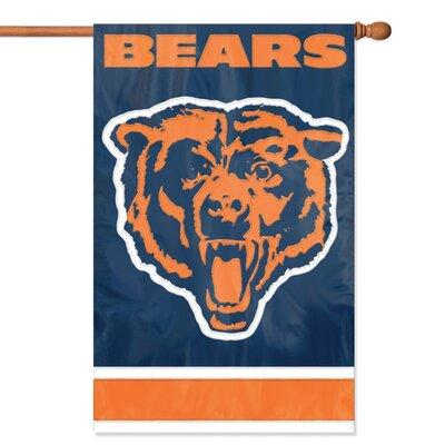 NFL Appliqu� House Flag NFL Team: Chicago Bears AFCH