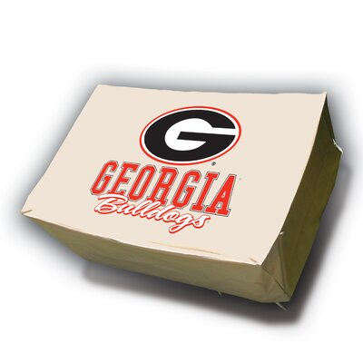 NCAA Rectangle Table Cover NCAA Team: University of Georgia