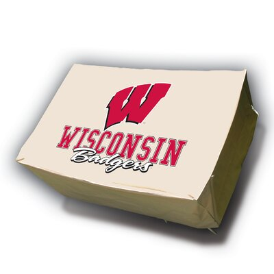 NCAA Rectangle Table Cover NCAA Team: Wisconsin