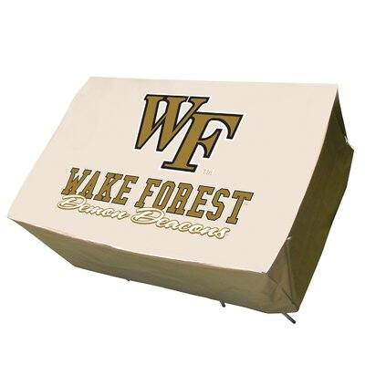 NCAA Rectangle Table Cover NCAA Team: Wake Forest